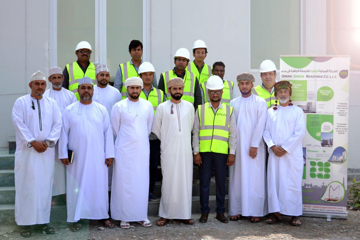 Oman Green Ready Mix Management