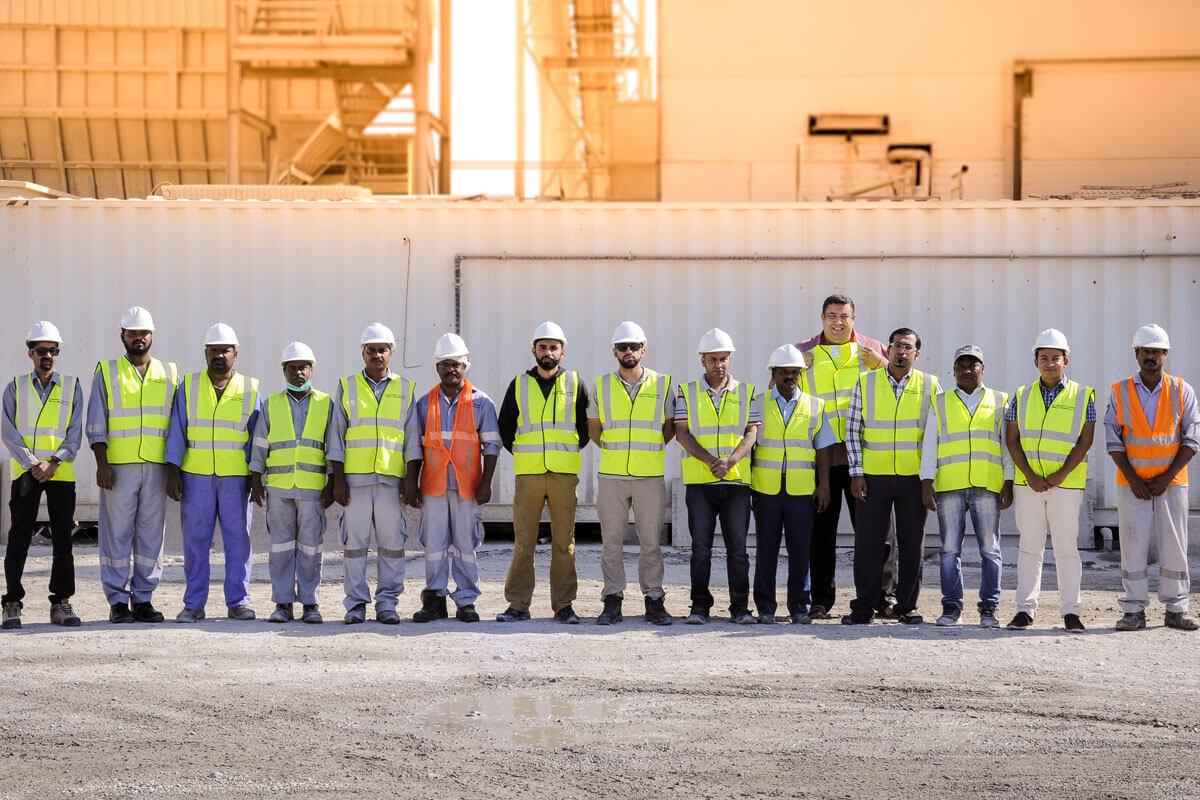 Oman Green Ready Mix Crew